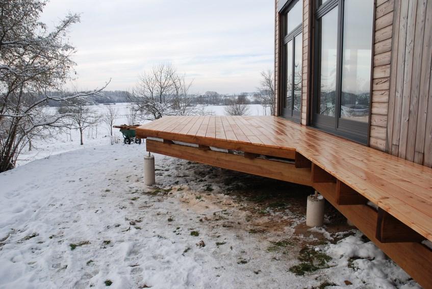 terrasse en bois ou composite saint di des vosges 88. Black Bedroom Furniture Sets. Home Design Ideas