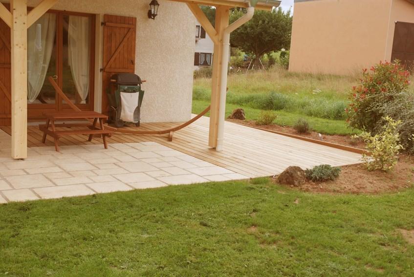 Terrasse En Bois Ou Composite à Saint Dié Des Vosges 88